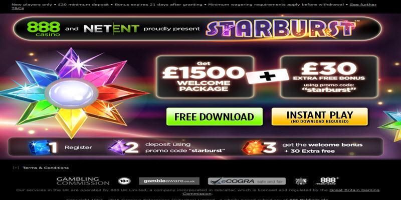starbust 30 free